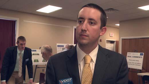 VDOT Spokesman Will Merritt