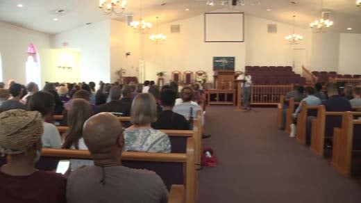 hundreds attend community meeting discussing kkk rally nbc mt zion african baptist church in charlottesville