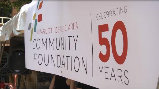The Charlottesville Area Community Foundation celebrated 50 years Wednesday