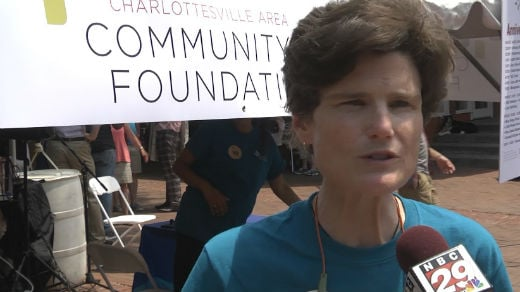 Anne Scott, president and CEO of Charlottesville Area Community Foundation