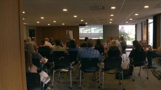 The Belmont Bridge Steering Committee met Wednesday
