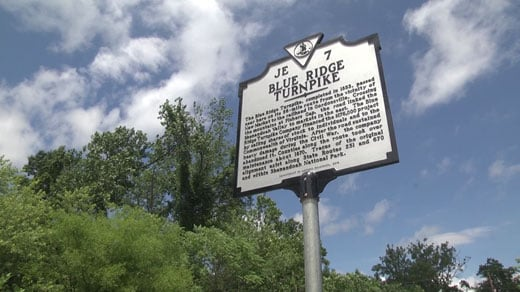 new historical marker on Route 670 in Madison County