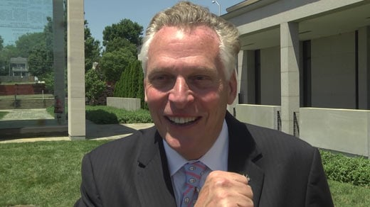 Governor Terry McAuliffe