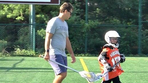 UVa assistant coach Kip Turner