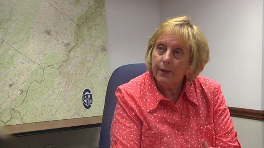 Nancy Gourley, transit manager with the Central Shenandoah Planning District