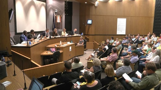 Meeting of the Charlottesville City Council (FILE IMAGE)
