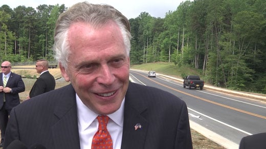 Gov. Terry McAuliffe (file photo)