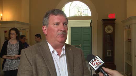 Steven Meeks, Albemarle Charlottesville Historical Society president