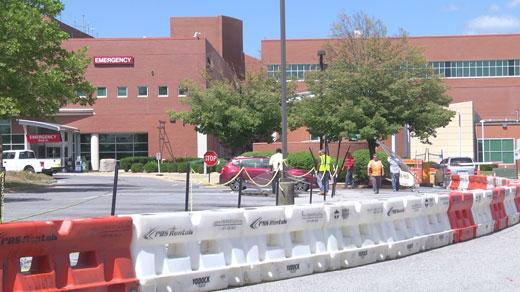 Augusta Health Walk-in Entrance zone in Fishersville