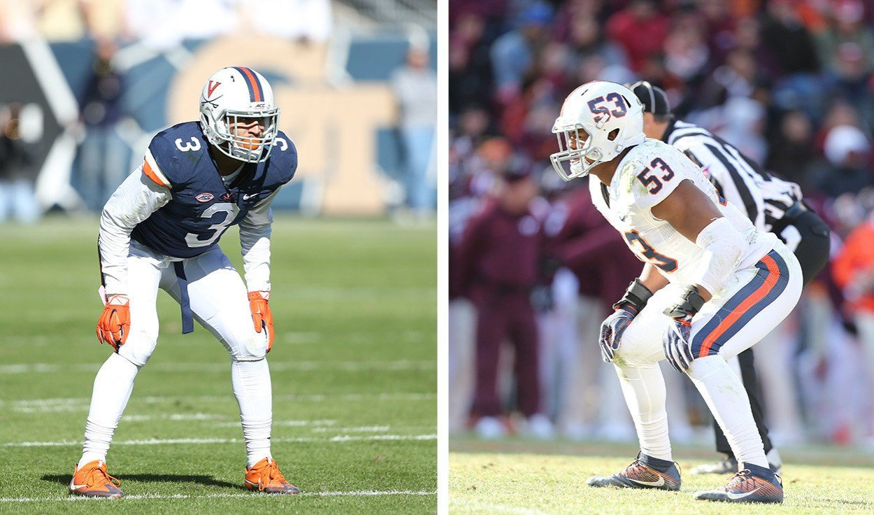 Kiser and Blanding were each named to the Bednarik Award Watch List