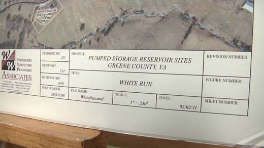 Greene County held a meeting on the White Run Reservoir Project Thursday