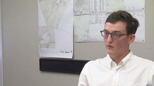 Zach Herrman, regional planner for TJPDC