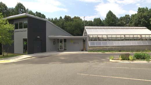 Science labs at Western Albemarle High School