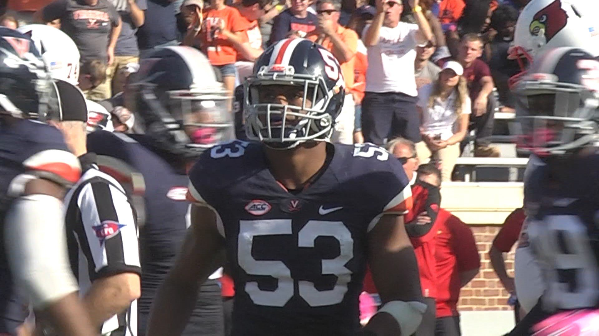 Kiser was a semifinalist for the Butkus Award as a junior