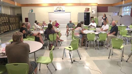 The Crozet Community Advisory Committee held a meeting Wednesday night to discuss NIFI projects