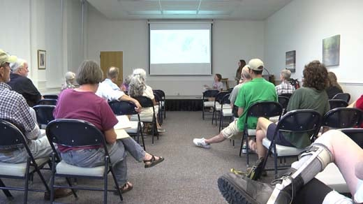 Local and Vocal held a meeting to talk about the Atlantic Coast and Mountain Valley pipelines