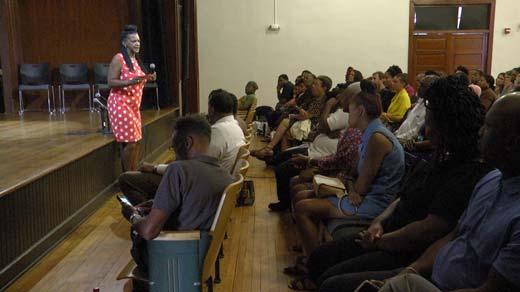 Black Mental Health Matters talk held in Charlottesville Tuesday night