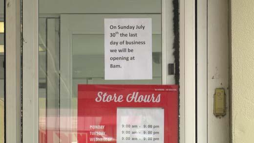 Kmart will be closing its doors Sunday