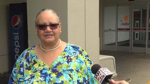 Paulette Tyre, shopper from Powhatan