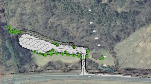 Plans for Hedgerow Park in Albemarle County