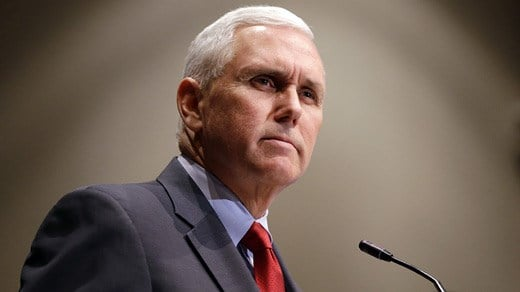 Mike Pence (AP PHOTO)