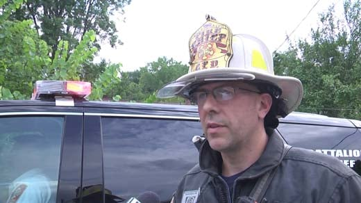 Charlottesville Fire Chief Andrew Baxter
