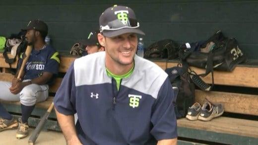 Tom Sox manager Corey Hunt
