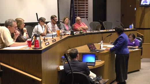 MACAA meeting in City Hall