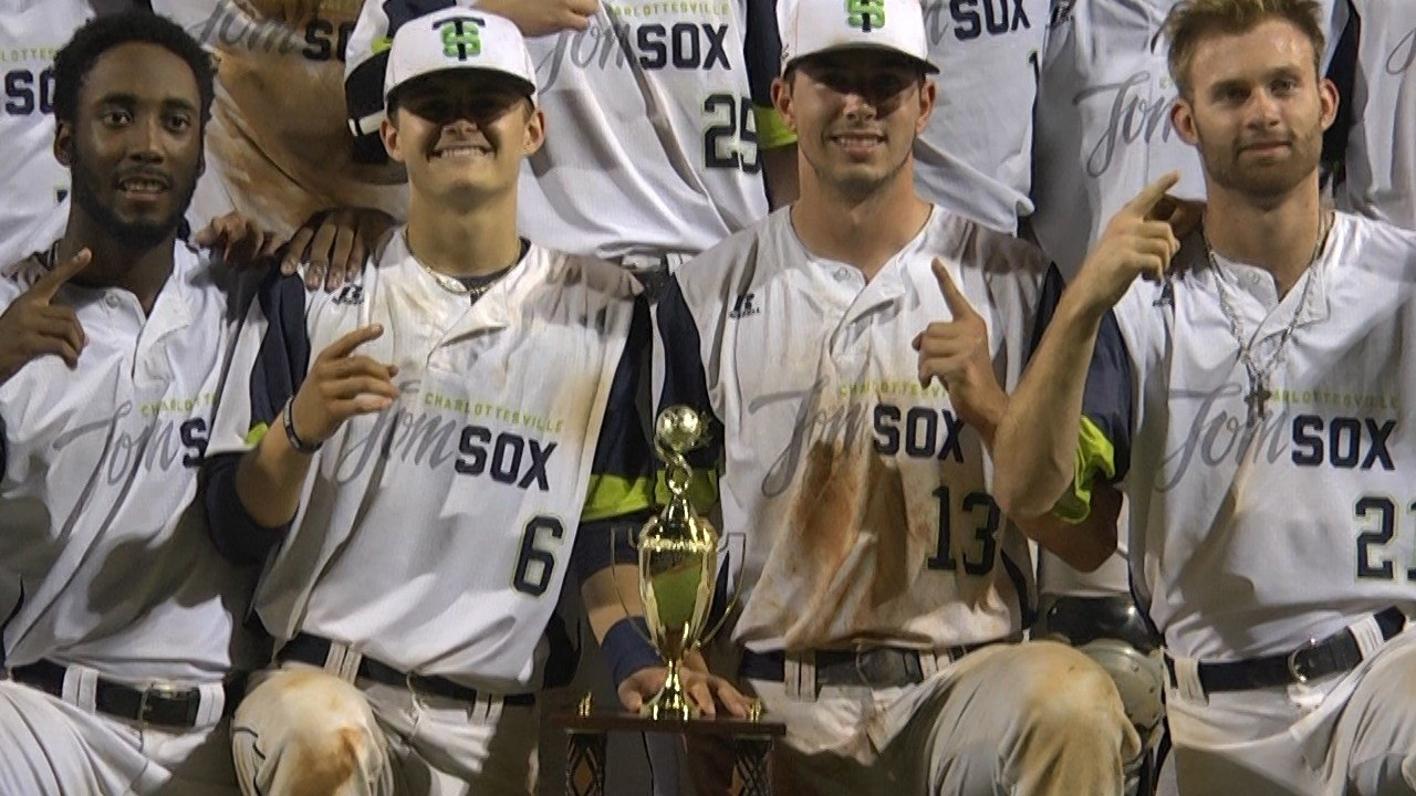 Charlottesville Tom Sox Win Valley Baseball League Title