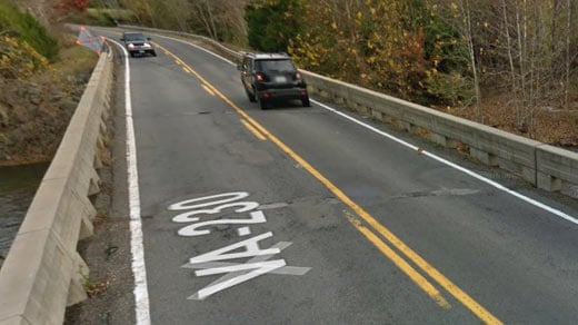 Route 230 Bridge over the Rapidan River (Image courtesy Google)