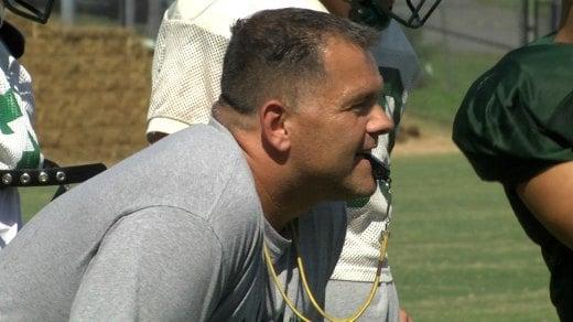 Head coach Jon Rocha
