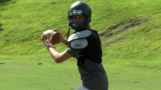 Junior quarterback Alex Kinsey