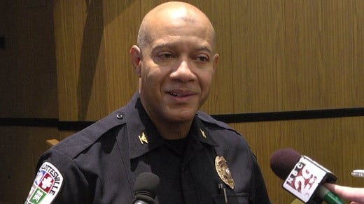 Charlottesville Police Chief Al Thomas