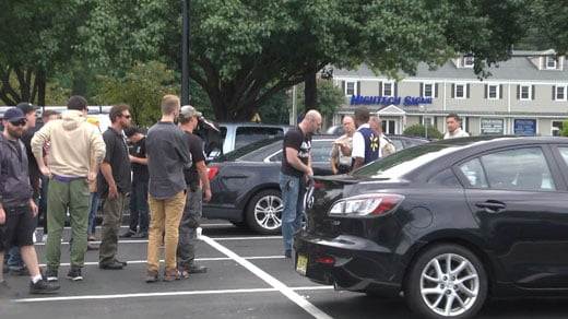 Alt-right leader Christopher Cantwell and supporters involved in incident at Walmart in Albemarle County.