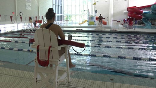 Pool at the Smith Aquatic & Fitness Center (FILE IMAGE)