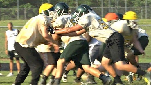 The Knights return 4-of-5 starters on the offensive line