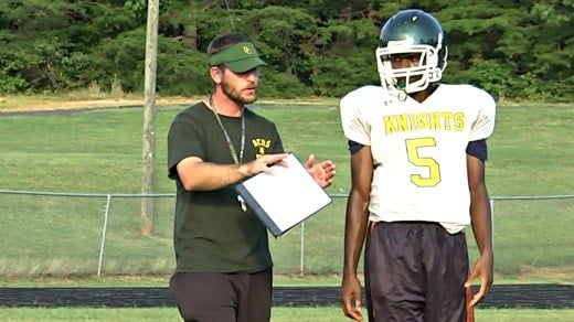 Josh Wallace is in his second season as Buckingham County head coach