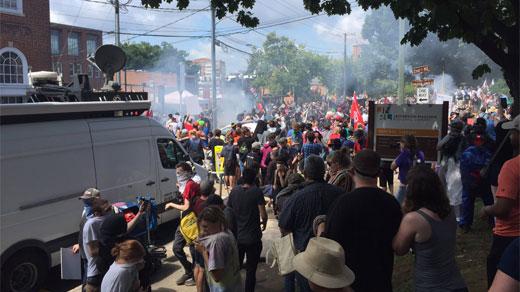 Unite the Right rally in Charlottesville (FILE IMAGE)
