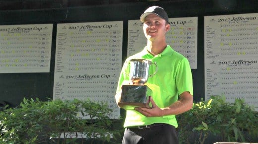 Taylor Ratliff won the 16th Jefferson Cup