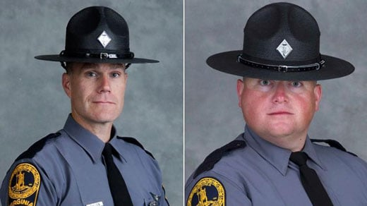 Lt. Jay Cullen and Trooper-Pilot Berke M.M. Bates