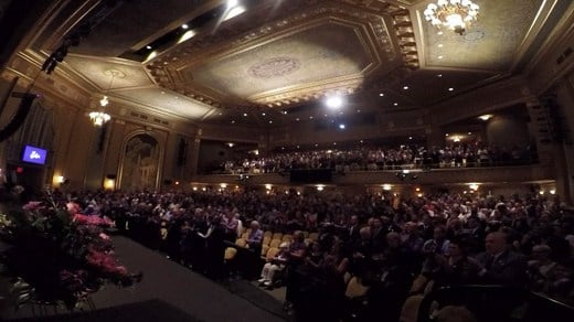 inside Paramount Theater for Heather Heyer's memorial service