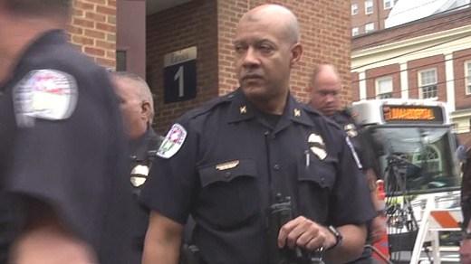 Charlottesville Police Chief Al Thomas (FILE IMAGE)