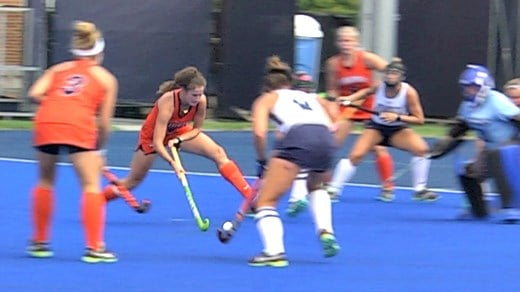 Tara Vittese scored all five goals for Virginia