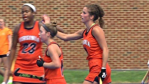 Tara Vittese is the first UVa player to score five goals since 1975, and its the second-highest total in program history.