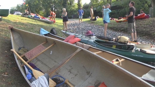 Paddle Against the Pipeline group
