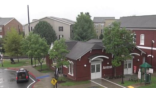 Charlottesville's Amtrak station