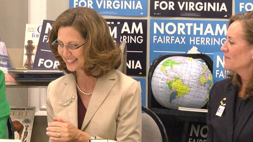 Pam Northam at the round table