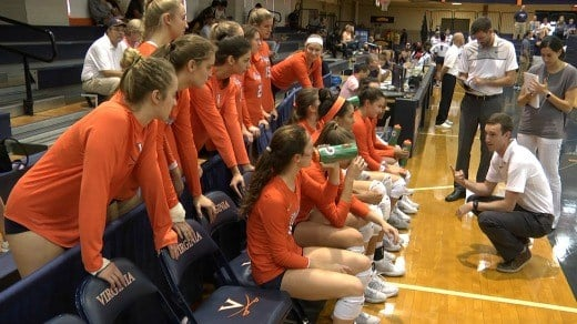 The UVa volleyball team dropped to 3-5 with the loss against Howard