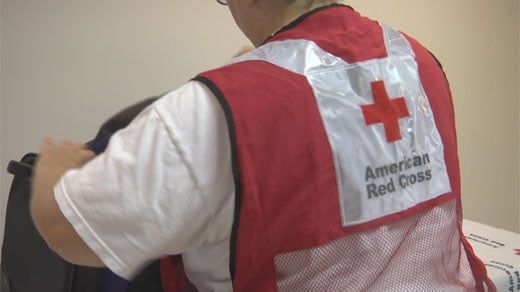 Red Cross staff