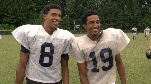 Sophomore Nic Sanker (left), and freshman Jonas Sanker